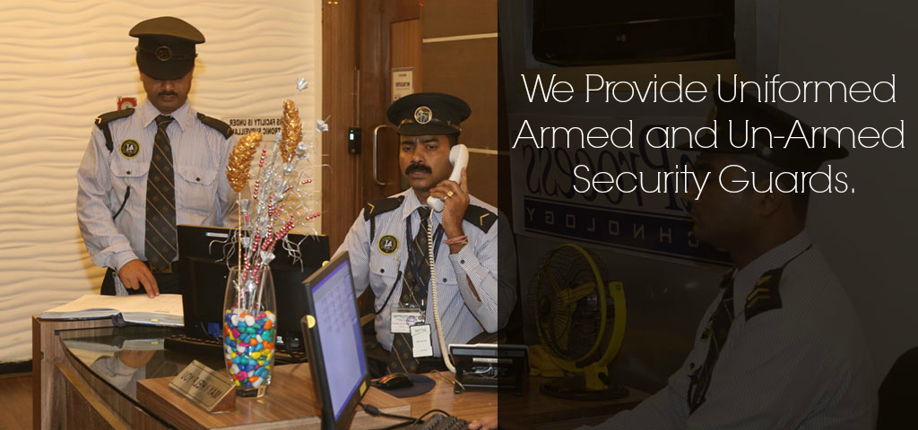 ASI armed and un-armed guards Indian cities